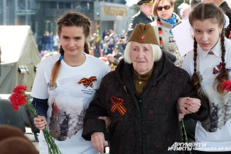 Ветераны Великой Отечественной войны.