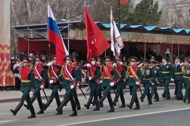 День Победы в Тюмени, 9 мая 2018