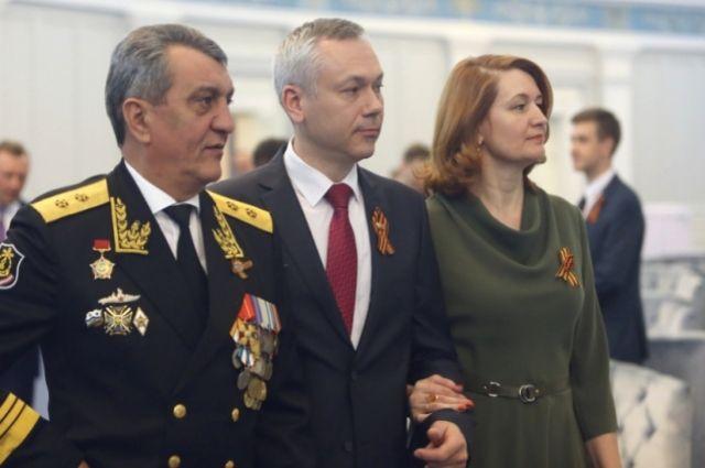 Андрей Травников на торжественном собрании в НОВАТе.