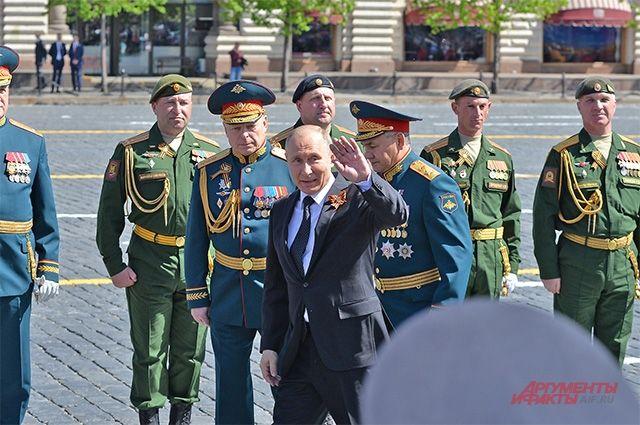 Путин назвал подвиг ветеранов ВОВ примером служения Отечеству