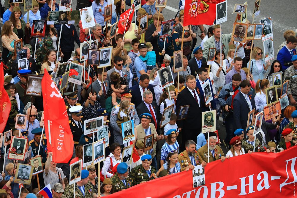 В Ростовской области участниками акции стали свыше 200 тысяч человек.