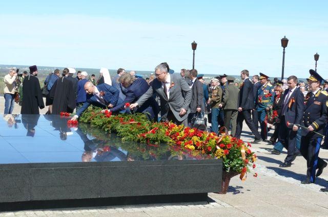 Депутаты городской Думы приняли участие в праздновании Дня Победы.
