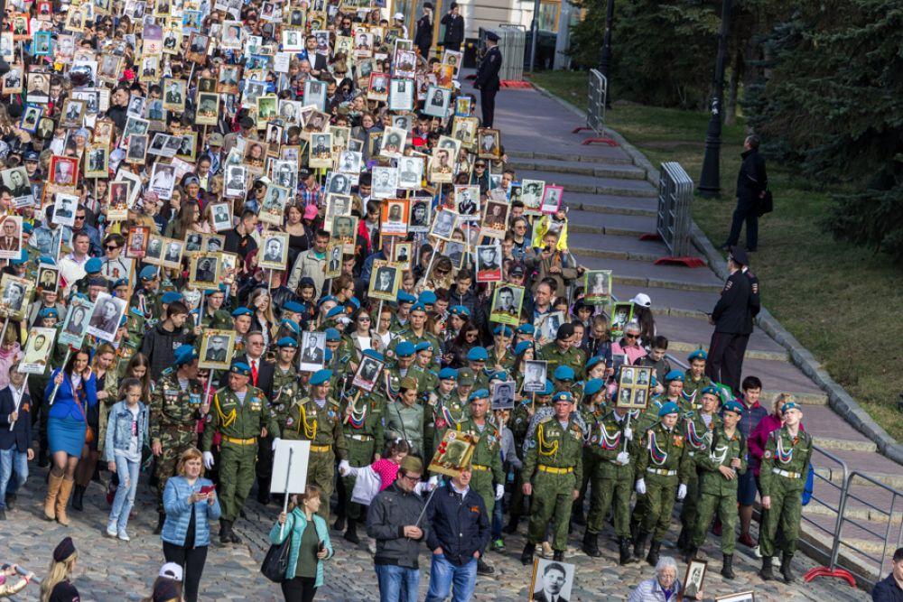 В шествии приняли участие 165 тысяч татарстанцев