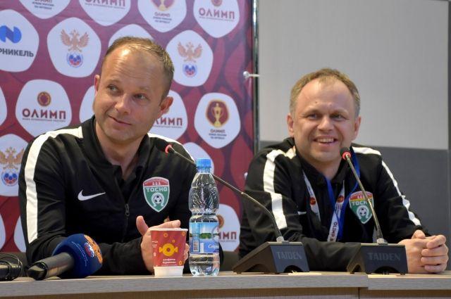 Главный тренер «Тосно»: мне очень понравился «Авангард», однако выигрывает одна команда