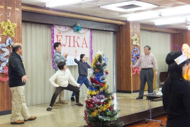 Ёлку по-русски в Японии празднуют с энтузиазмом.
