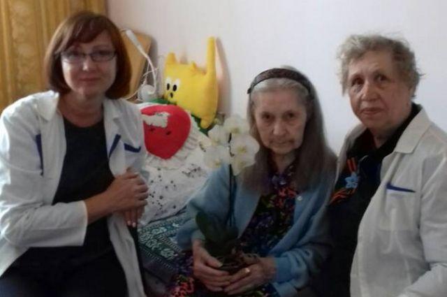Марта Медведева - ветеран, житель блокадного Ленинграда