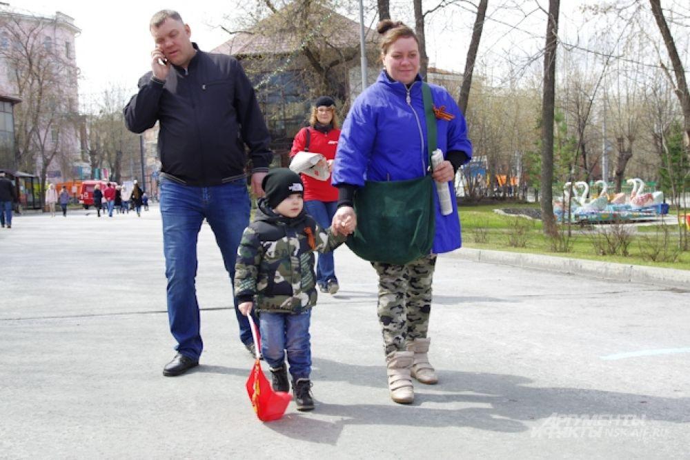 День Победы в парке имени Кирова прошел весело.