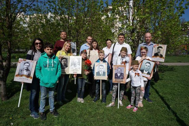 Работники КНПЗ в третий раз приняли участие в шествии «Бессмертный Полк».