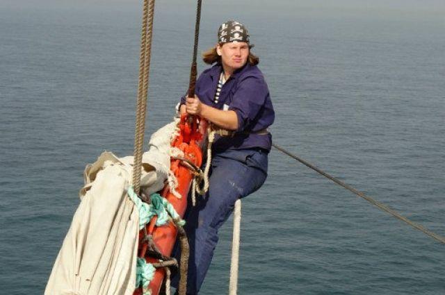 На высоте 15 м над морем чувствуешь каждую волну.