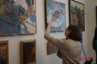 На выставке представлены картины, созданные автором за последние шесть лет.