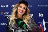 Юлия Самойлова на церемонии открытия 63-го международного конкурса песни «Евровидение - 2018» в Лиссабоне.