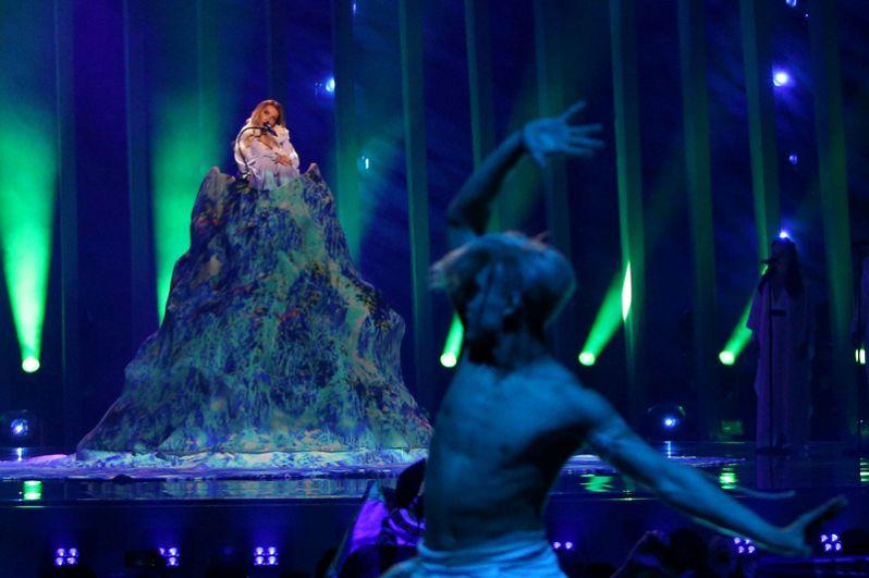 Выступление Юлии Самойловой на «Евровидении-2018».