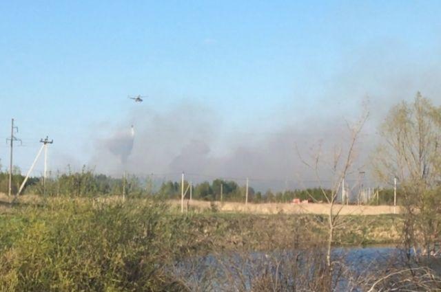 В Нижегородской области объявлен режим высокой пожарной опасности.