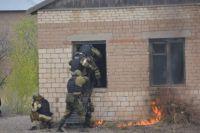 В Саракташе полицейские и спецслужбы успешно обезвредили «террористов».