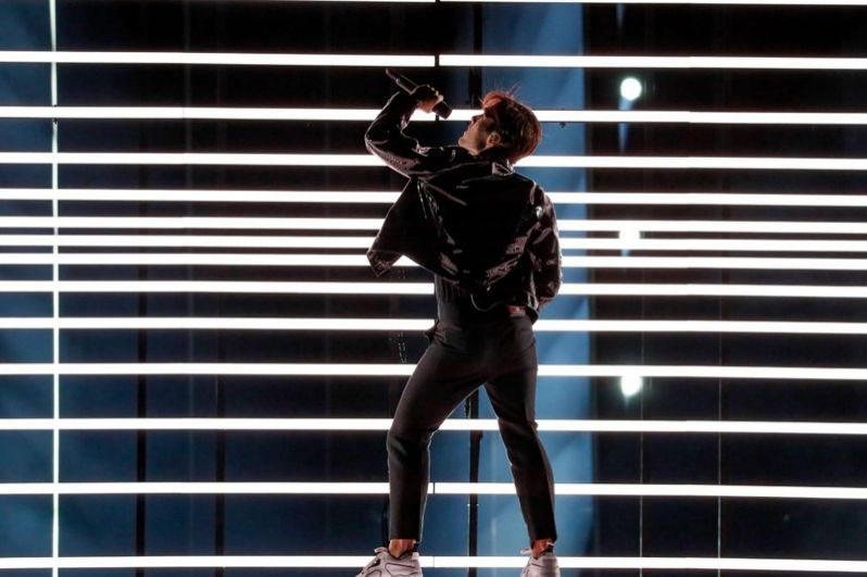 7 место. Швеция. Бенджамин Ингроссо «Dance You Off» («Забыть о тебе в танце»).