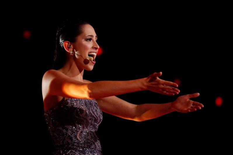 8 место. Эстония. Элина Нечаева с песней «La Forza» («Сила»).