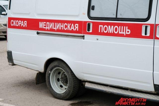 От полученных травм мужчина скончался в карете скорой помощи.