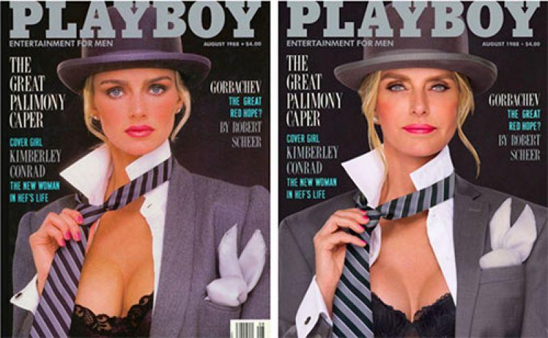 Кимберли Конрад Хефнер в мужском образе просто неотразима!