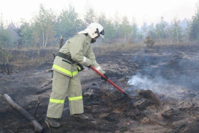 В Оренбургской области действует особый противопожарный режим