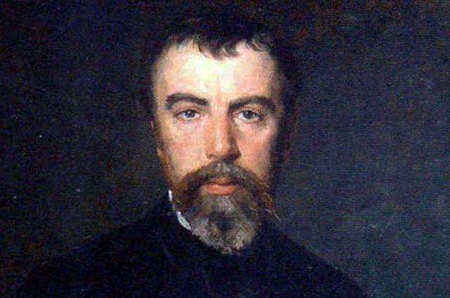Николай Кузнецов. Портрет Василия Поленова (1887)