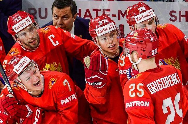 Русские  хоккеисты вышли в ¼ финала чемпионата мира