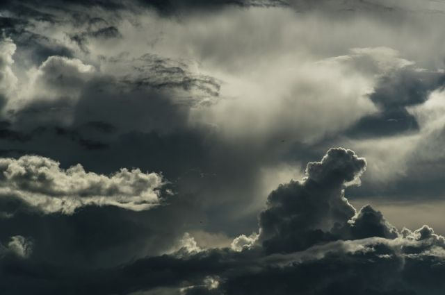 В Кемеровской области установилась прохладная и пасмурная погода.