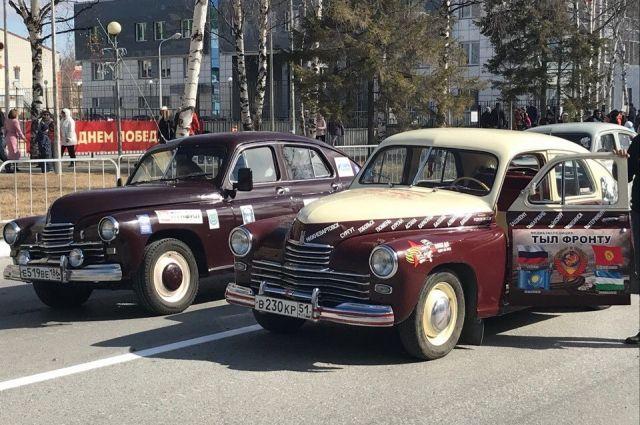 Медиаэкспедиция по городам Югры, России, СНГ и Европы на легендарных автомобилях ГАЗ М-20 «Победа».