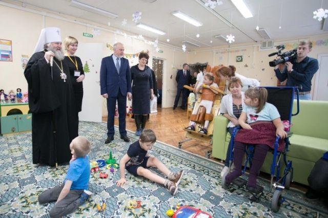 Владыка Павел посетил реабилитационный центр