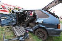 Причины аварии выясняют сотрудники Госавтоинспекции.