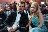 Александр Кержаков с супругой Миланой. 2015 г.