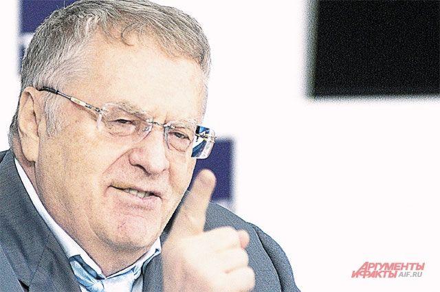 Жириновский раскрыл размер собственной пенсии