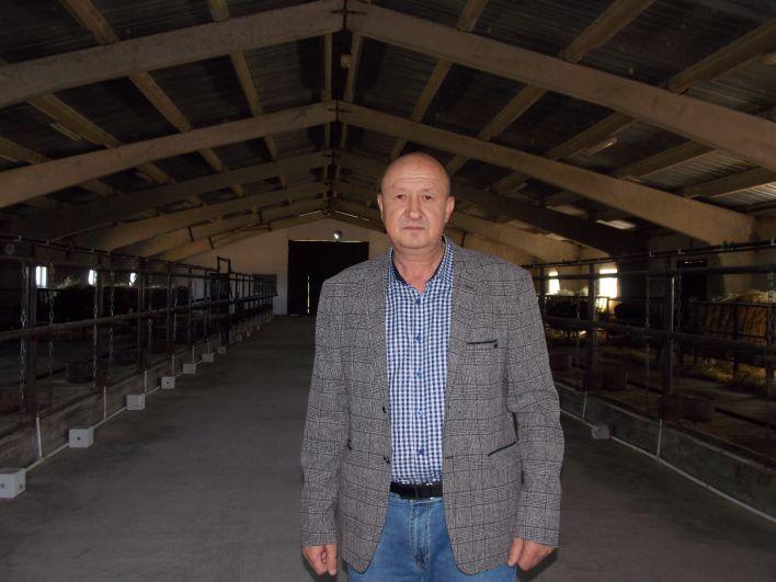 Начинающий фермер Вадим Сухомлинов.