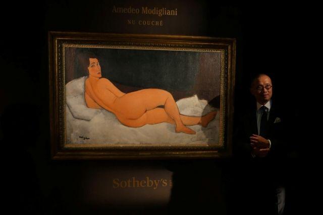 Шедевр Модильяни продан нааукционе вНью-Йорке зарекордные $157,2 млн