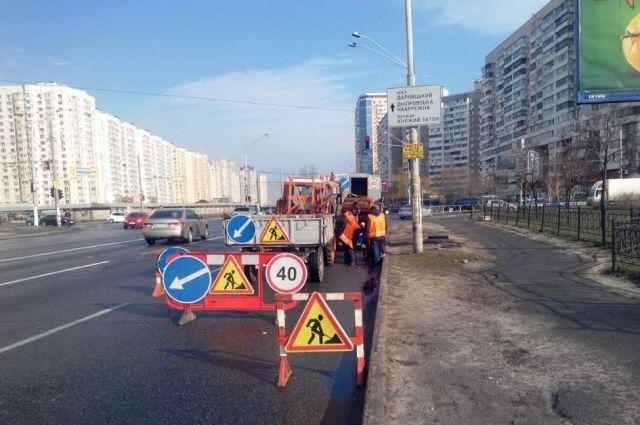 Сегодня, 15мая, вКиеве ограничат движение еще на 2-х  дорогах