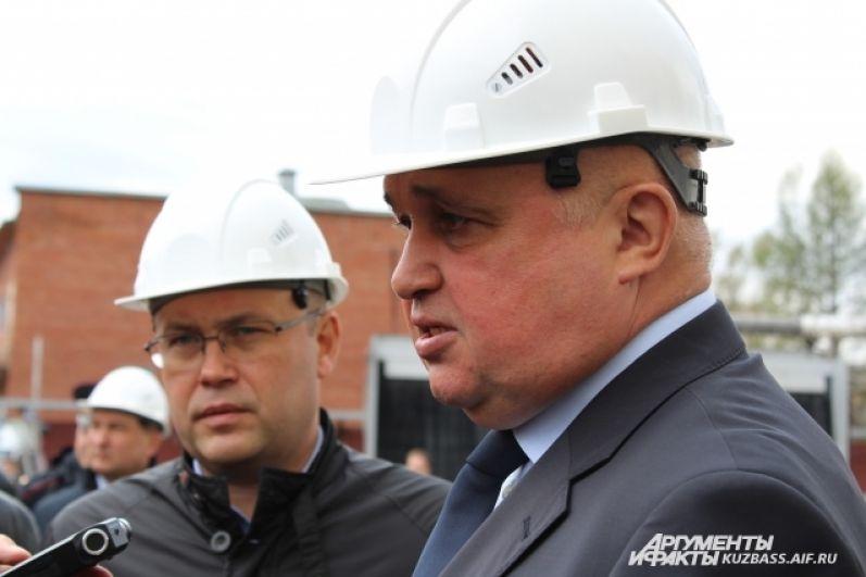 Сергей Цивилев пообещал, что к 1 сентября на территории ТЦ «Зимняя Вишня» появится другой объект.