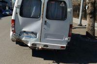 В ДТП пострадали водитель и пассажир маршрутки