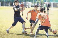 Играть в народный вид спорта любят и студенты МГУ.
