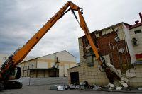 Снос здания ТЦ «Зимняя вишня» в Кемерове.