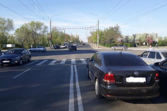 В Оренбурге в ДТП на проспекте Победы подросток получил сотрясение мозга.