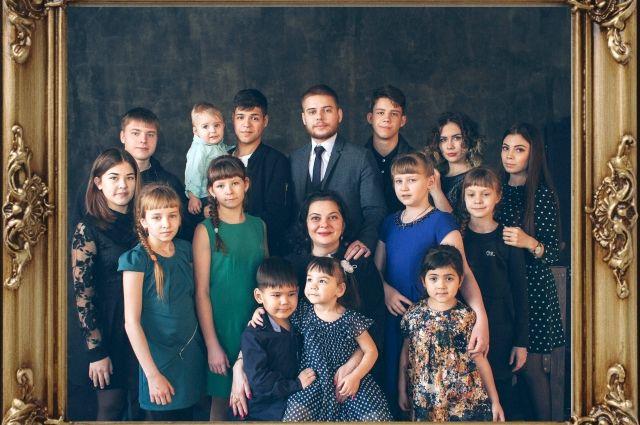 Семья Татьяны Полуяновой
