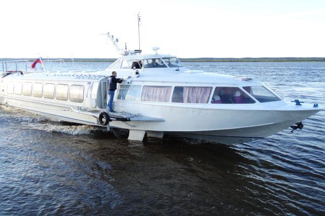 Речной транспорт в Ханты-Мансийске