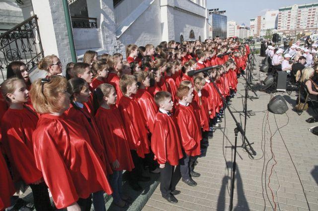 По всей стране хоры объединятся в один.