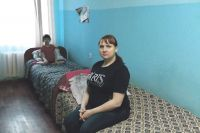 Юлия Валтышева второй месяц вынуждена жить в кризисном центре.