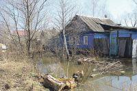 Подтапливаемая территория находится ниже уровня воды реки Тускарь.
