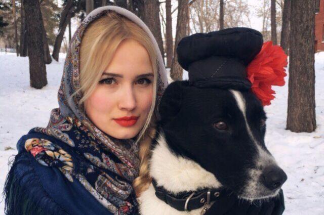 Очаровательный пёс Валера уже стал звезой Омска.