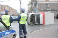 Аварии на дорогах Омска.