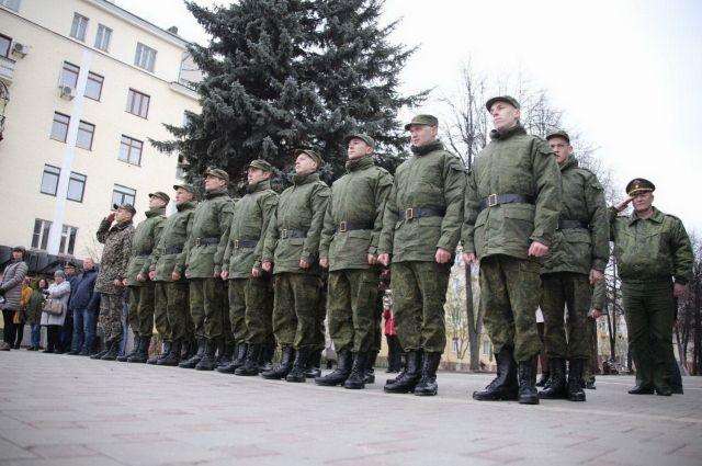 Призывников из Кузбасса проводили на службу в Президентский полк.