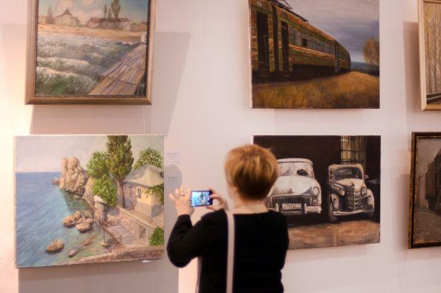 Выставка Кирилла Зибницкого в Пермской арт-резиденции.