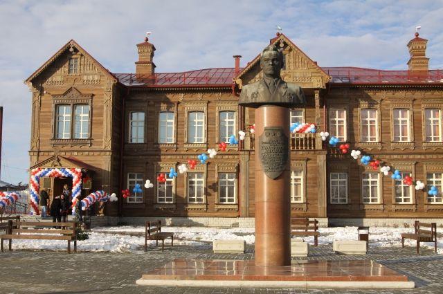 Музей Михаила Калашникова в Курье.