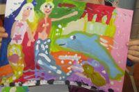 Рисунок Марии Ивановой, 6 лет.